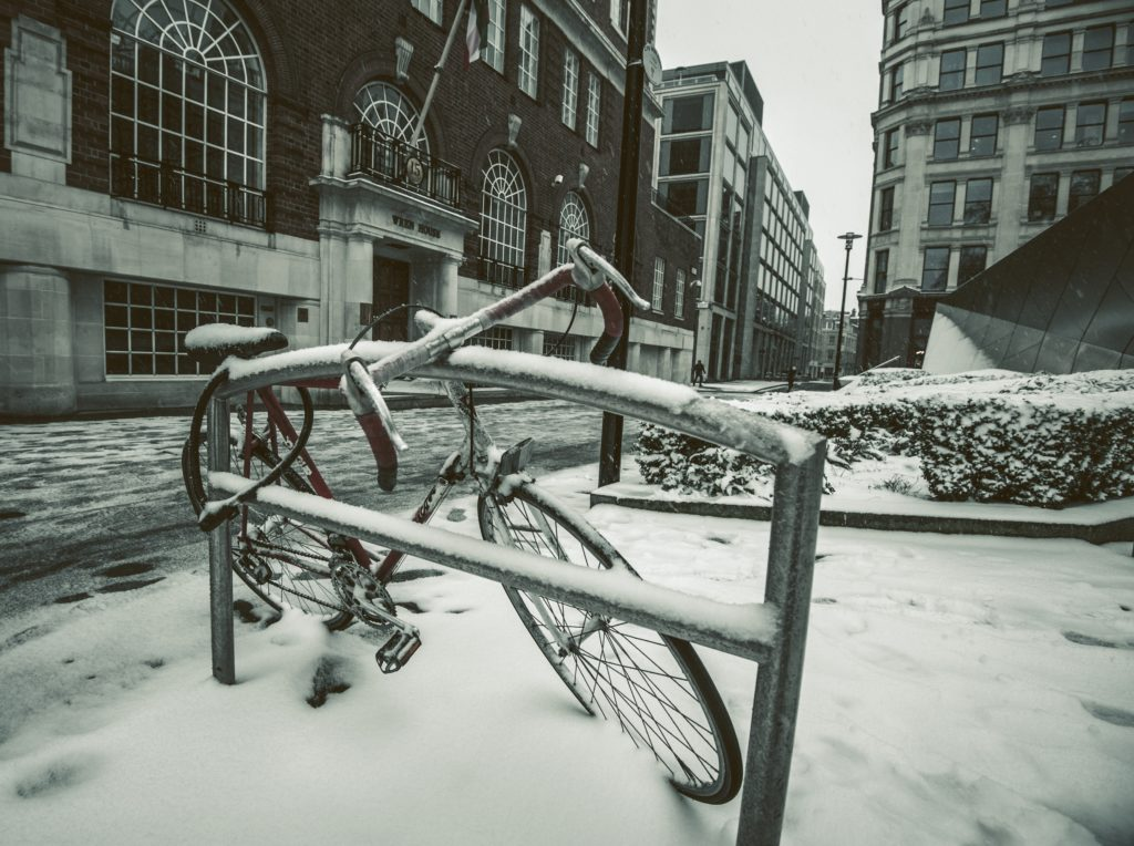 Zimowanie rowerów